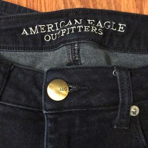 American Eagle Dark Wash Skinny Jeans - 12 Regular
